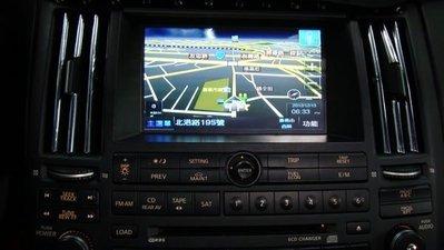 【嘉義.新動力汽車音響】INFINITI FX35 原廠螢幕升級導航 數位 倒車鏡頭 影音系統