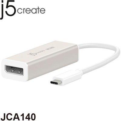 【MR3C】含稅 j5 create JCA140 USB3.1 Type-C 外接顯示擴充卡 DisplayPort
