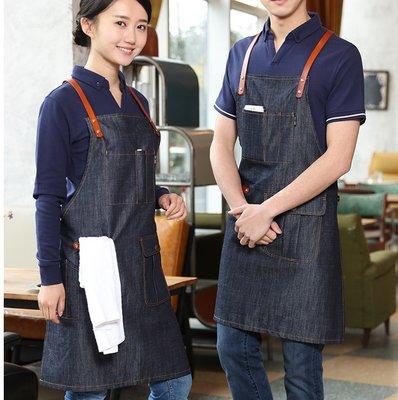 [正妹的店]牛仔圍裙 單寧圍裙 工作圍裙 咖啡廳 調酒師 花店 民宿 美容美髮