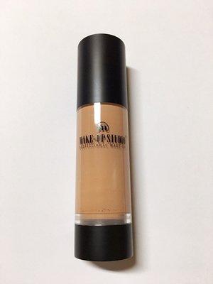 【彩妝大師】荷蘭彩妝make-up studio 持色防水粉底液35ml  Alabaster 持久防水保濕(二手)