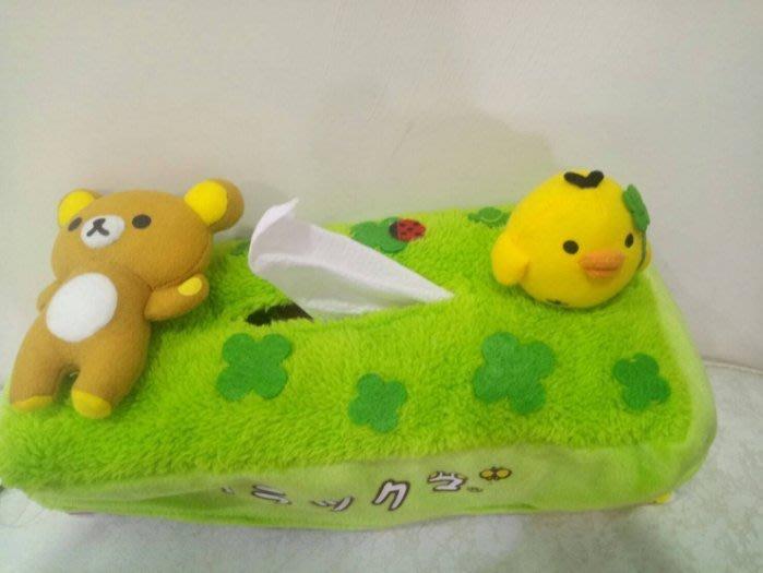 《東京家族》綠 拉拉熊 衛生紙 面紙套/盒