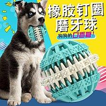 寵物狗狗玩具橡膠漏食球訓練狗咬  風行購物街