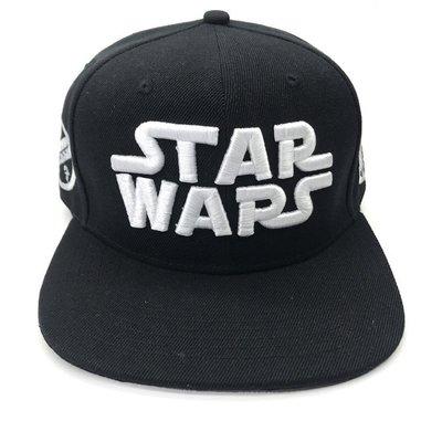 [現貨]星際大戰平沿帽 Star Wars 棒球帽子 R2D2 帝國風暴兵 黑武士 潮刺繡韓國街舞嘻哈帽戶外遮陽帽 桃園市