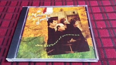 R西洋團(二手CD)THE MANHATTAN TRANSFER~THE OFFBEAT OF AVENUES