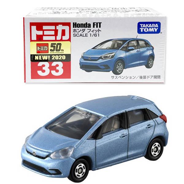 【3C小苑】TM033A4 158653 麗嬰 TOMICA Honda fit (初回) 多美小汽車 後門可開