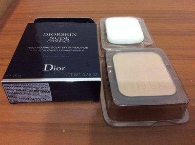 迪奧Dior輕透光裸膚粉蕊10g #020自然色 有效期限201706含運$999
