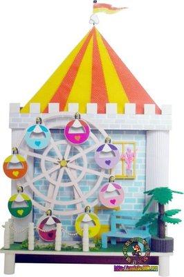 【酷正3C】我的DIY小木屋 袖珍屋 娃娃屋 微縮場景系列 238-1幸福摩天輪