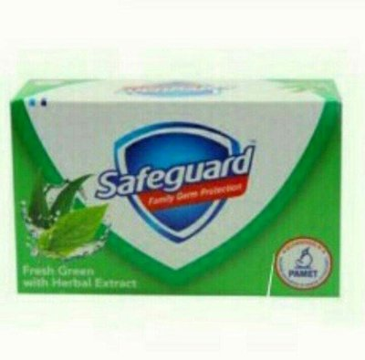 菲律賓 Safeguard fresh green 清新薄荷香皂 /1塊/135g