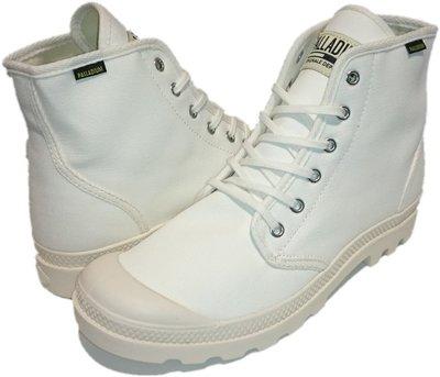 =CodE= PALLADIUM PAMPA HI ORIGINALE 帆布軍靴(白).75349-112.經典原創.男