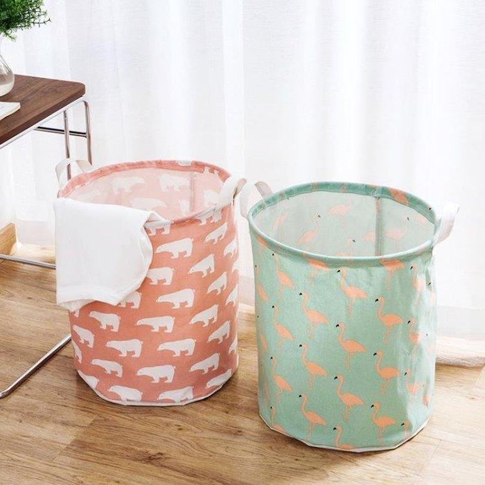 居家家 可折疊防水臟衣籃家用大號洗衣簍 布藝裝玩具臟衣服收納筐CY