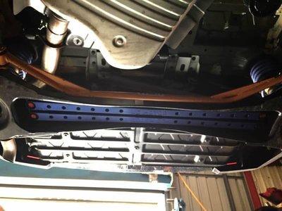 【童夢國際】D.R DOME RACING LUXGEN7 SUV U7  防傾桿 扭力桿 雙桿式 後下拉  側傾抑制