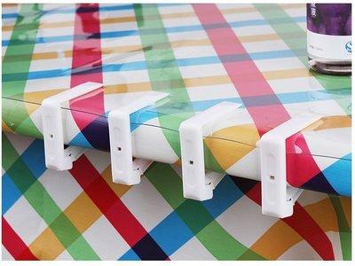 【大山野營】TNR-100 透明 桌布夾 桌巾夾 蛋捲桌 休閒桌 野餐桌 竹板桌 料理桌 白金廚房 摺疊桌