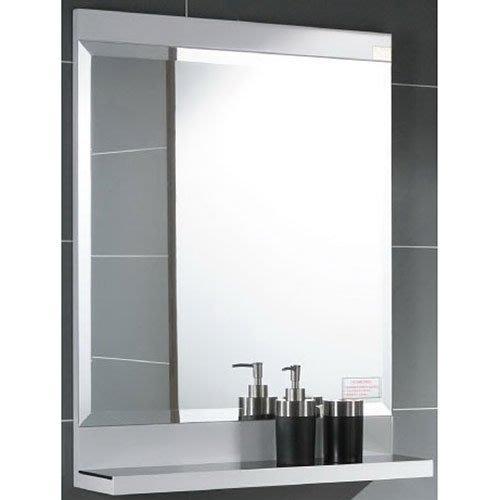 《101衛浴精品》Corins 柯林斯 60CM 白色鋼琴烤漆平檯 明鏡 浴鏡 RO-60M 尺寸可另外訂製 【免運費】