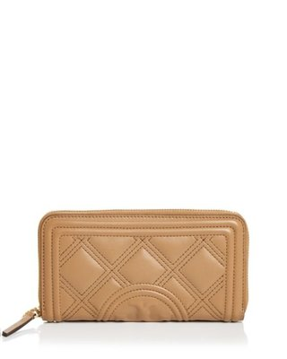 Tory Burch Fleming Quilted Leather Continental Wallet12/24止