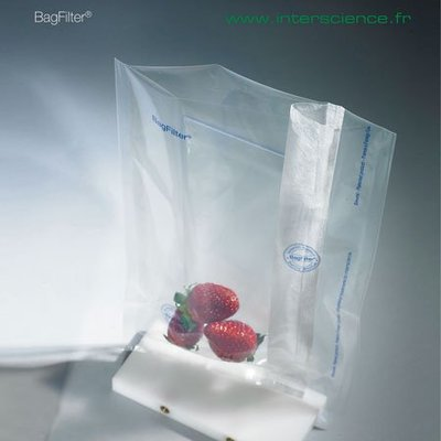 『德記儀器』《interscience》鐵胃袋 單邊濾網 BAGFILTER, Bags with Lateral