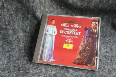 [ CD ] Spirituals in Concert - Battle/Norman/Levine
