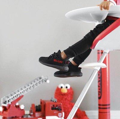 XinmOOn* Adidas Yeezy Boost 350 V2 BB6372 椰子 童鞋 小童鞋 黑紅