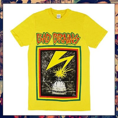 【三分之二】BAD BRAINS Capitol //(2)復古潮流/Band/Tee