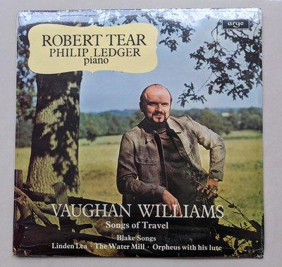 黑膠唱片出清優惠,全新未拆封ROBERT TEAR Ledger, Vaughan, ZRG 732 [2024]