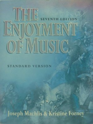 【月界】The Enjoyment of Music-7/e_Perceptive Listening 〖音樂〗AKQ