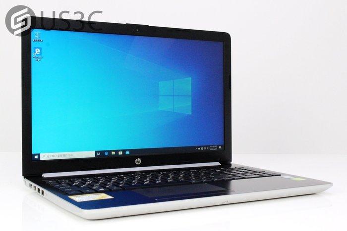 【US3C】HP 15-da0012tx 15吋 i7-8550U 4G 1T+128G PCIe SSD MX130
