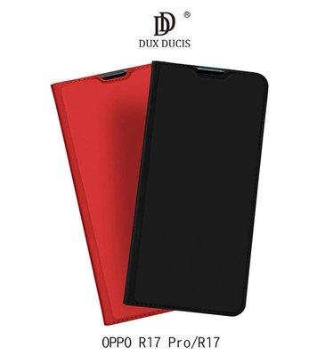 *PHONE寶*DUX DUCIS OPPO R17 Pro / R17 奢華簡約側翻皮套 可站立 可插卡 保護套