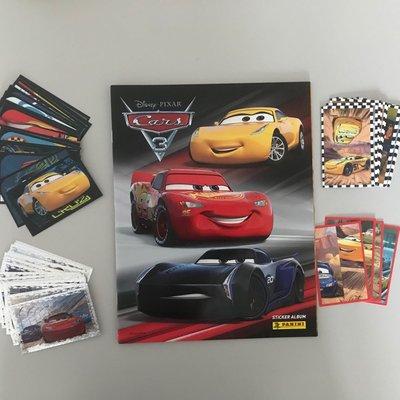 Panini 「反斗車王 3」Cars 3 貼紙 stickers