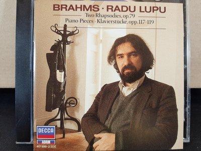 Lupus,Brahms-Rhapsodies,Intermezzos,Klavierstucke,魯普鋼琴,演繹布拉姆斯:狂想曲,間奏曲,小品集等,如新。