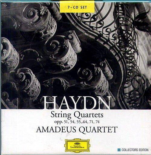 海頓:弦樂四重奏集(7CD) / 阿瑪迪斯四重奏 --- 4775145