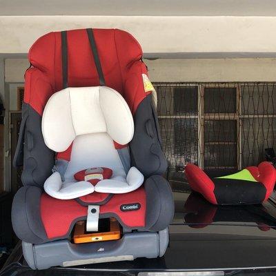 Combi兒童座椅0-7歲適用附增高墊 現$4000原價$15800