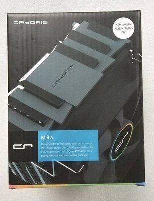 @淡水無國界@ 快睿 M9a (AMD專用) CPU塔型散熱器 AM3 AM3+ FM1 FM2 AM4 CPU風扇