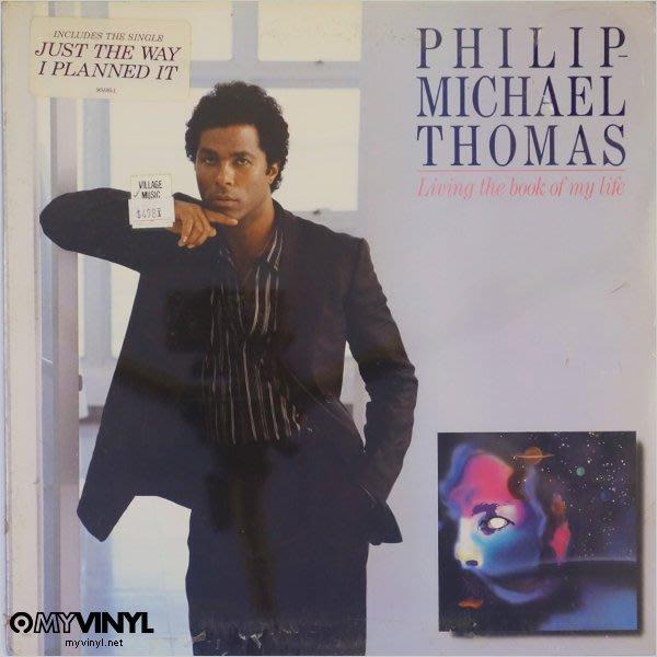 [黑膠唱片同好會] Philip Michael Thomas《Livin' The Book... 黑膠唱片 / 再生