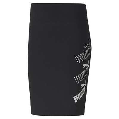 *昕衣屋*轉賣PUMA女生棉質黑色5分裙-58513001-S號