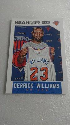 明星球員DERRICK WILLIAMS一張~5元起標