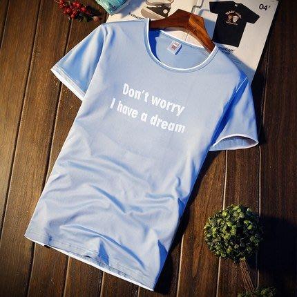 [C.M.平價精品館]新品特價M~3XL清新舒適百搭有型短袖T恤