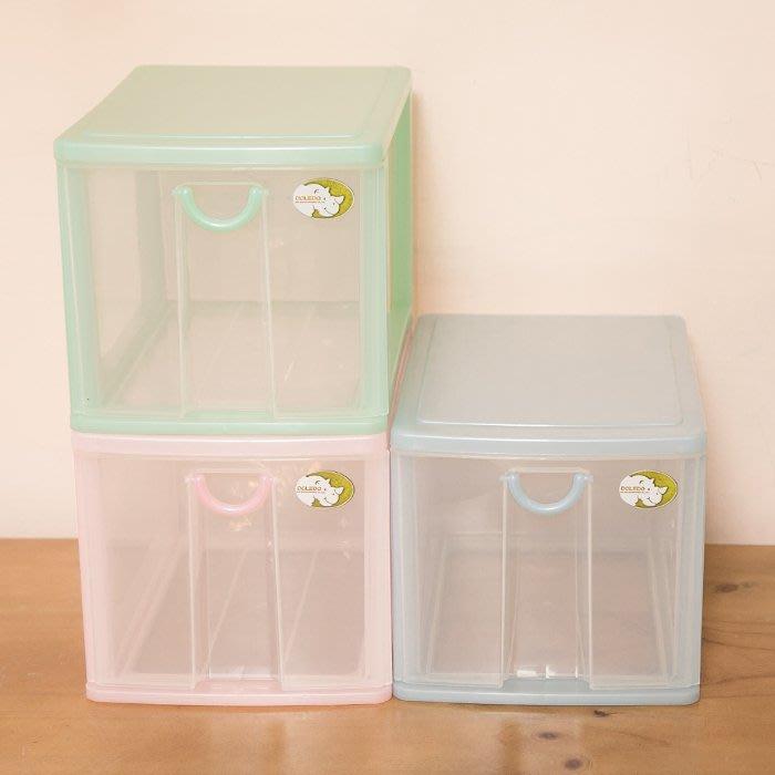 【1層小物收納架】5L 單層櫃 連環細縫櫃 收納箱 置物櫃 抽屜整理箱 分類箱 抽屜櫃AD521[金生活]