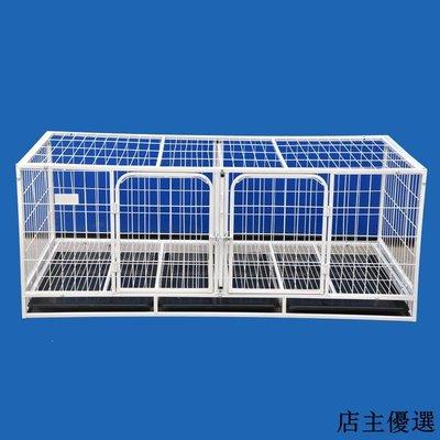 寵物籠大型泰迪貴賓寵物貓籠子狗籠子雙層三層帶隔斷養殖寵物籠子