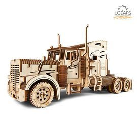UGEARS 重裝教父-Heavy Boy Truck VM-03 自走模型 六缸引擎 V6 變形金剛柯博文