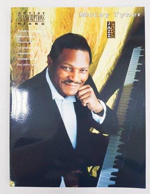 McCoy Tyner 爵士大師鋼琴五線譜曲集,Artist Transcriptions Piano 系列 美版全新品,敬請把握