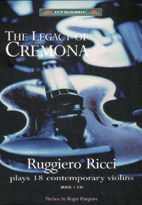 詩軒音像十八把名琴 魯杰羅.里奇-the legacy of cremona CD BOOK-dp070