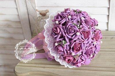 手捧花仿真婚禮創意高檔婚慶玫瑰花束