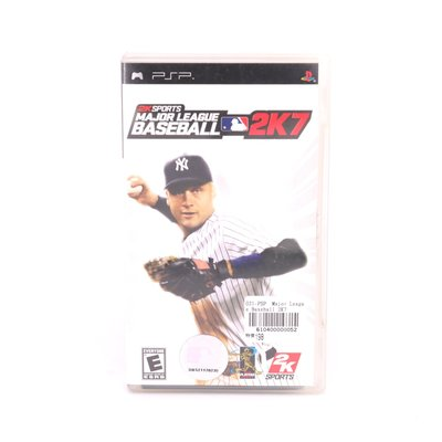 PSP Major League Baseball 2K7 610400000052 再生工場 02
