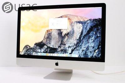 【US3C】台灣公司貨 Apple iMac 27吋 i5 3.2G 8G 1TB GTX 675MX 2012年末頂規