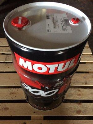 【魔特 MOTUL】300V、Racing、4T、10W40、雙酯基全合成機油、機車專用、60公升/桶裝【法國進口】