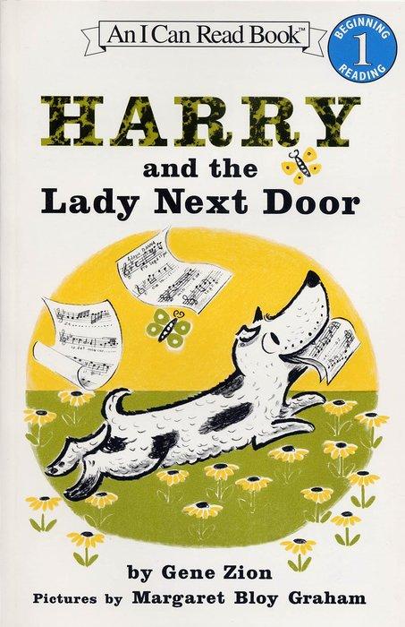 *小貝比的家*HARRY AND THE LADY NEXT DOOR / L1/平裝/3~6歲 /汪培珽--第二階