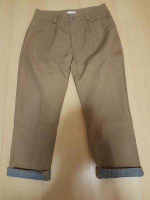 二手日本品牌pou dou dou副牌Je papillonne100%棉褲,商品如圖閒置出清售出無退換貨服務~