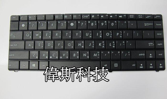 ☆偉斯科技☆ 華碩ASUS  N43  A43S  N82  A42JC  全新鍵盤~現貨供應中!