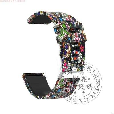 ATMOS MISSION ONE 錶帶 創意 流行 印花 手表帶 防摔 替換帶 手表腕帶 時尚 休閑表帶 運動手錶帶