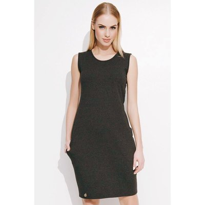 dark grey silm fit sleeveless dress top shop zara asos mango 簡約灰色收身背心連身裙 短裙 襯衫