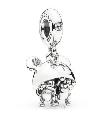 【金永珍珠寶鐘錶】實體店面*PANDORA潘朵拉 樂園迪士尼限定 奇奇蒂蒂 松鼠兄弟  現貨*